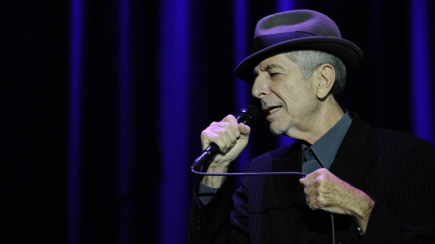 Leonard Cohen udsender live-album