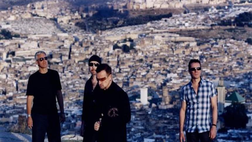 U2 tager til Glastonbury