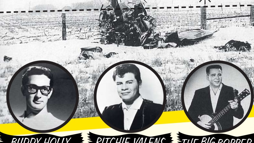 50 år siden, Buddy Holly og Ritchie Valens døde