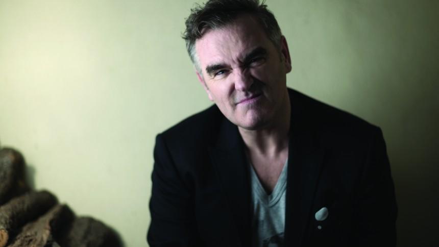 Morrissey udvandrer under koncert