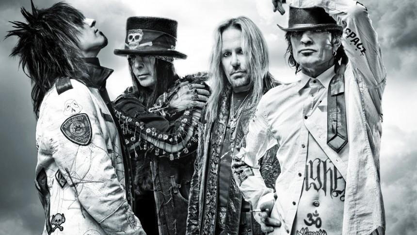 Mötley Crüe siger farvel og tak med afskedsturné