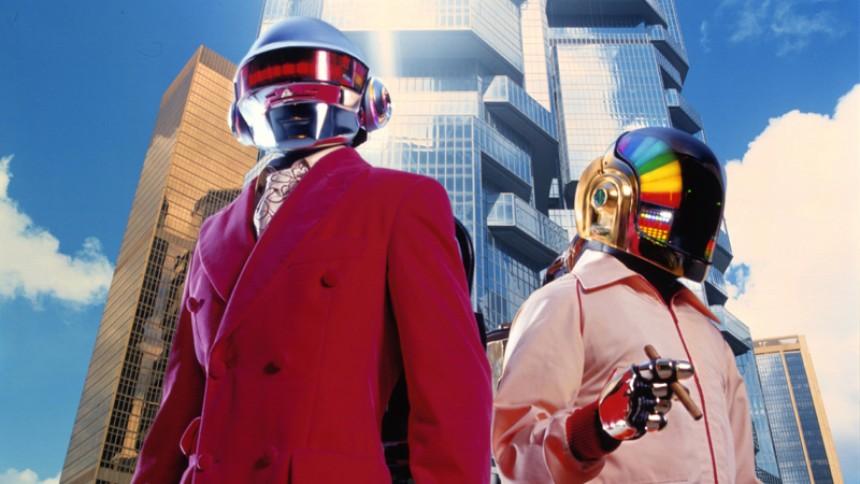 Daft Punk laver reklame for Adidas