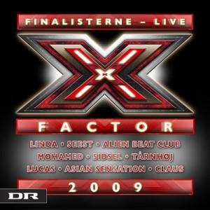 Diverse kunstnere : X Factor-Finalisterne 2009 Live