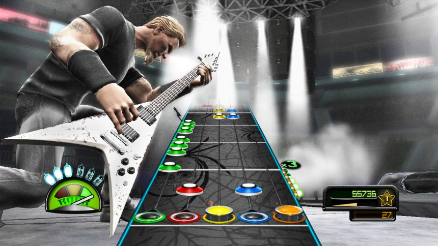 Activision stopper Guitar Hero