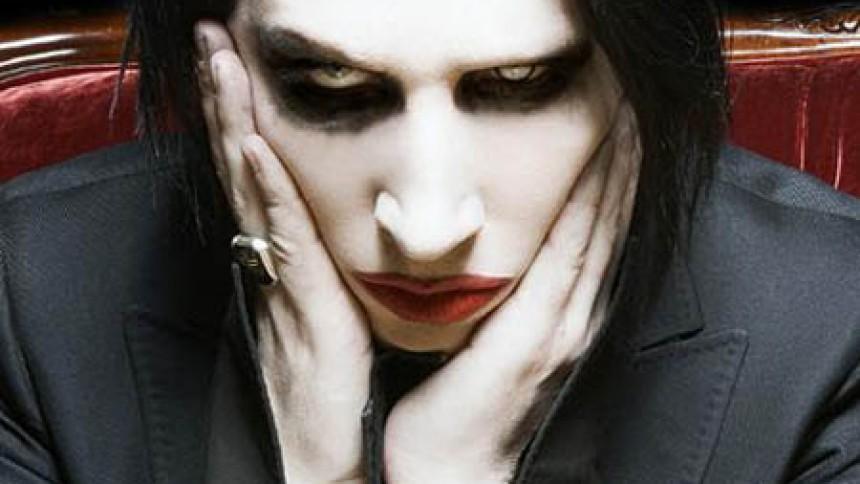 Marilyn Manson har været et smut i studiet med Lady GaGa