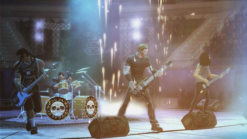 Varm op til Metallica