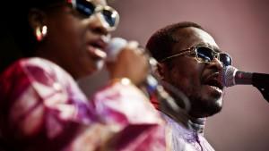 Amadou & Mariam - Roskilde Festival, Arena 040709