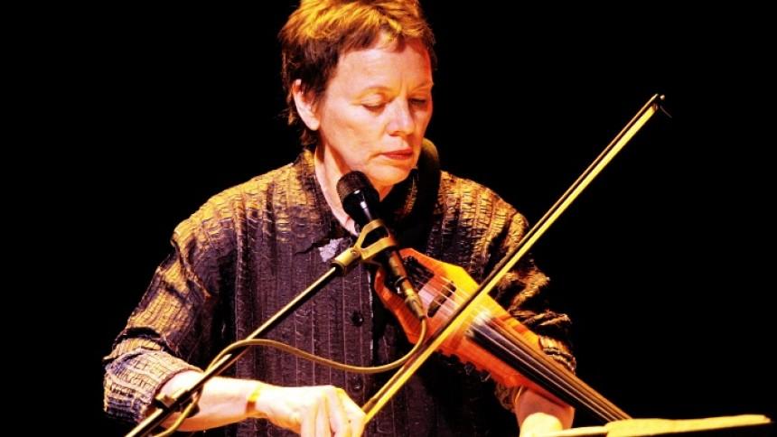 Laurie Anderson laver første album i ni år