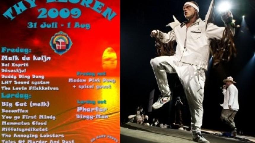 Malk De Koijn benægter koncert i Thylejren