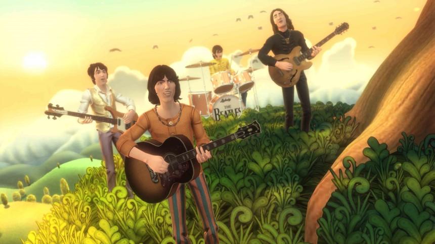 The Beatles offentliggør Rock Band-sange