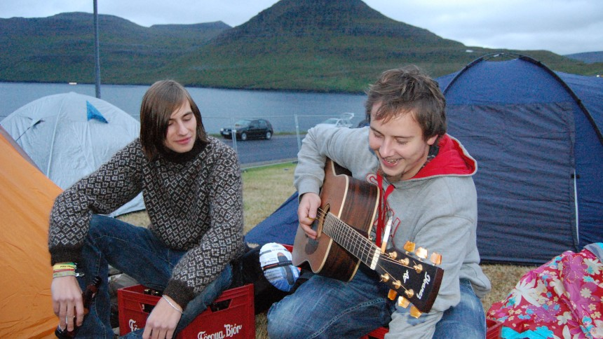 GAFFA dækker den færøske G! Festival