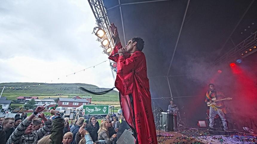 The Ghost: G! Festival, Gøta, Færøerne