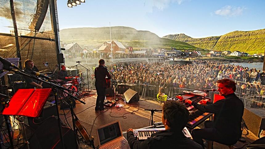 Teitur: G! Festival, Gøta, Færøerne