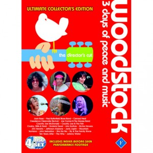 Diverse kunstnere: Woodstock - 3 Days of Peace and Music - The Director's Cut - Ultimate Collector's Edition (4dvd)