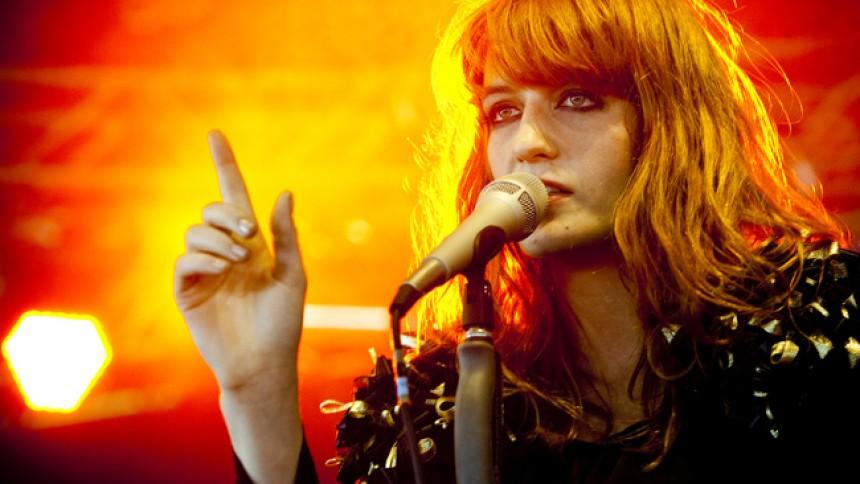 Florence And The Machine: Beatday, Telt-scenen, Valbyparken, København