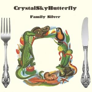 Crystal Sky Butterfly: Family Silver