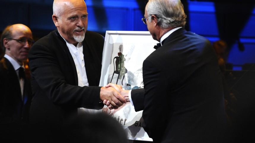 Peter Gabriel modtager Polar Music Prize