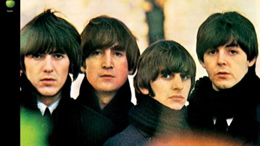 The Beatles går på hitlisterne