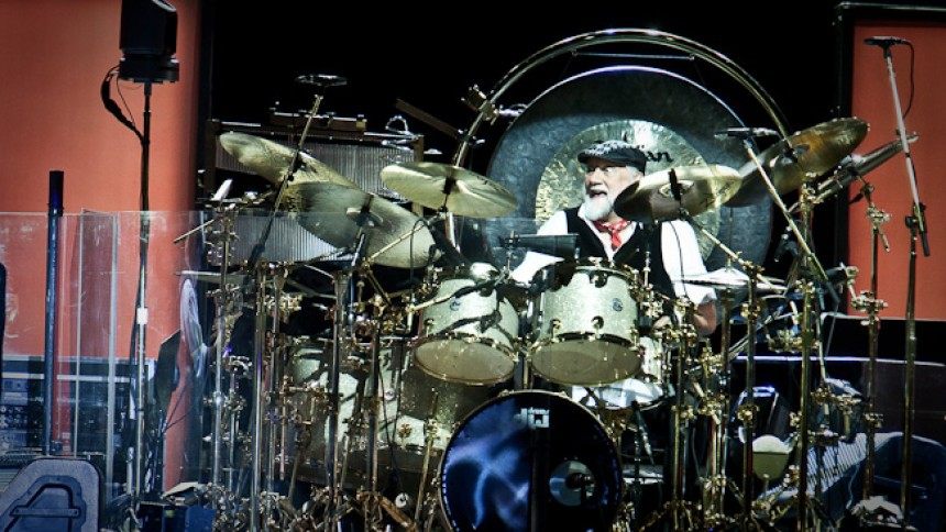 Fleetwood Mac-trommeslager genskaber viral TikTok-video