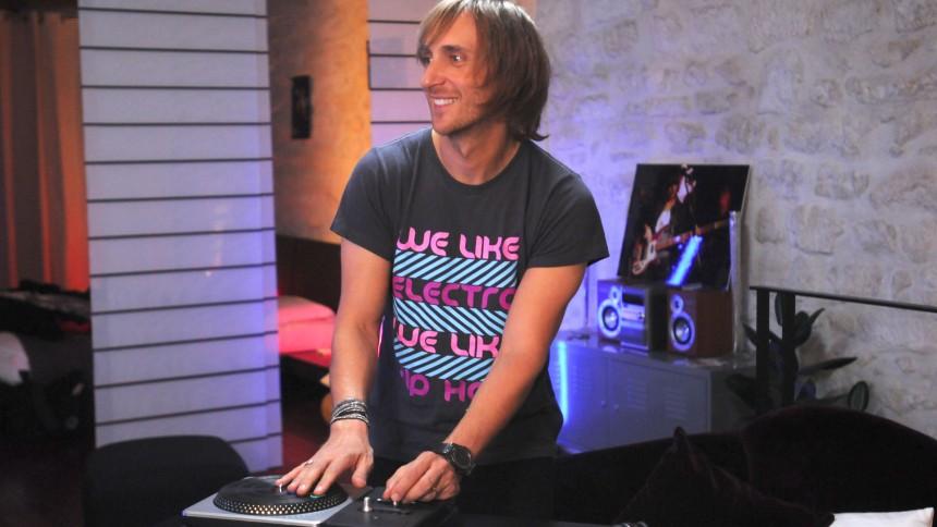 David Guetta er talsmand for DJ Hero