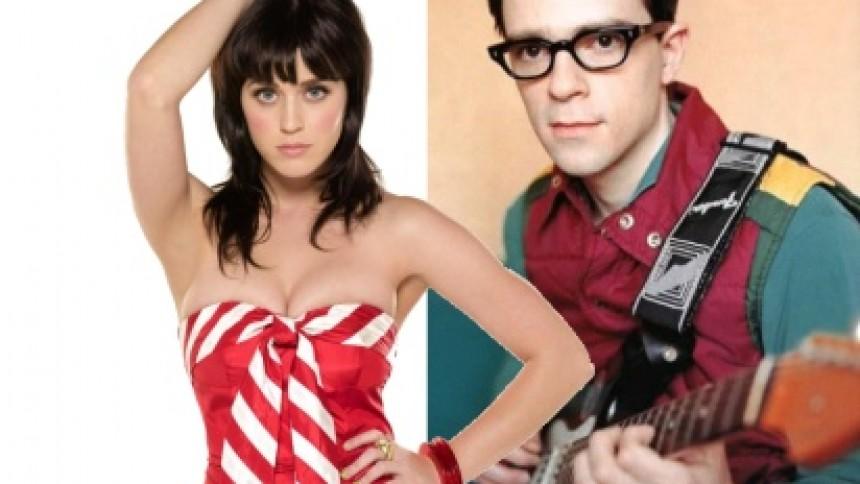 Weezer-frontmand skal i studiet med Katy Perry