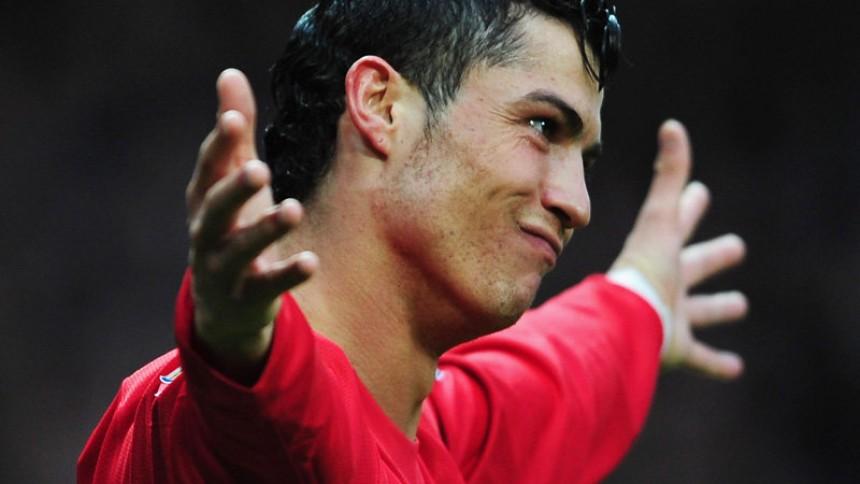 Cristiano Ronaldo synger i reklame