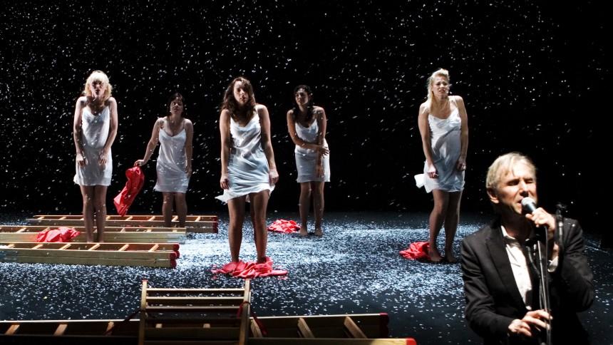 Steffen Brandt og Trine Dyrholm: Baby Blue, Betty Nansen Teatret, København