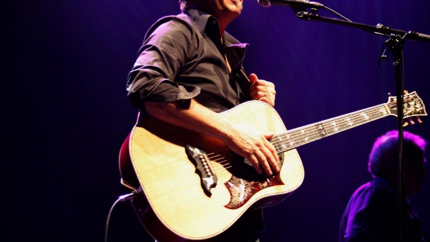 Kevin Costner giver koncert
