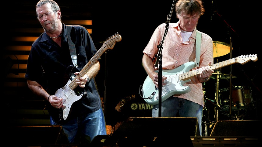 Eric Clapton & Steve Winwood til Malmö