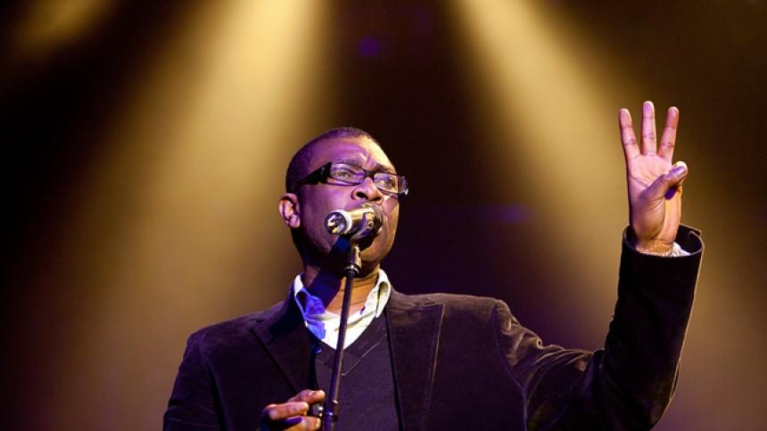 Shaggy, Youssou N'Dour, Khaled, Angelique Kidjo m.fl.: Dance 4 Climate Change, Parken