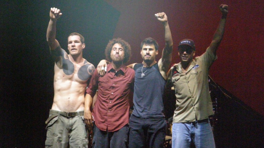Rage Against The Machine spillede The Clash-cover