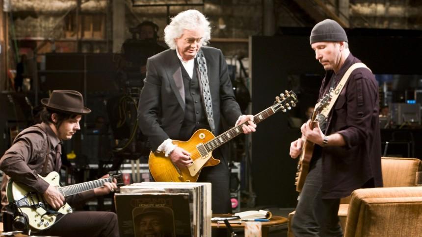 Guitarhelte mødes i aktuel film