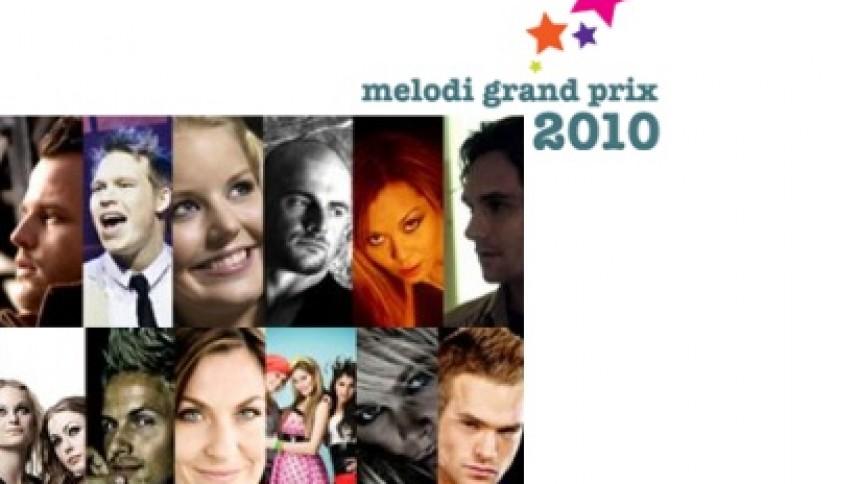 Navnene klar til Melodi Grand Prix