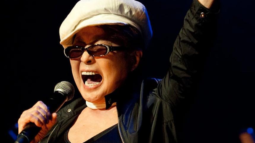 Yoko Ono gendanner Plastic Ono Band