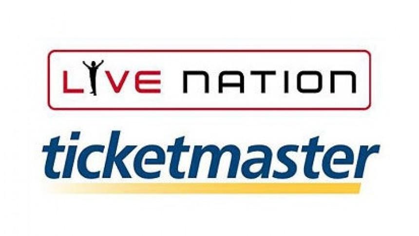 Live Nation og Ticketmaster bliver slået sammen