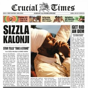 Sizzla: Crucial Times