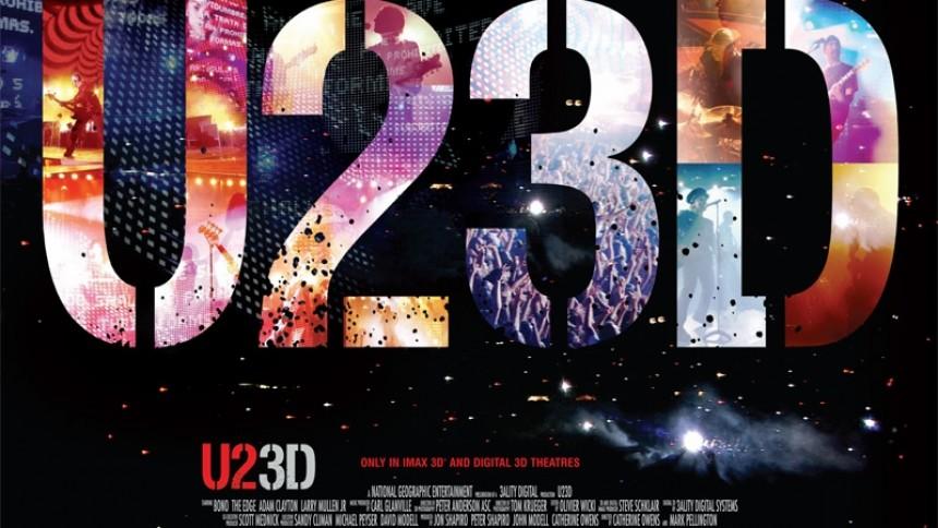 U2-3D-film til Thisted