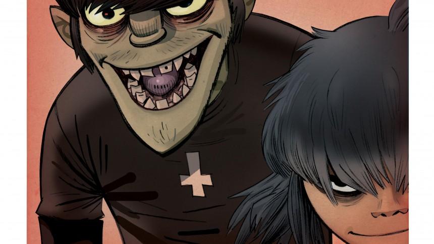 Gorillaz udgiver sang med videospil
