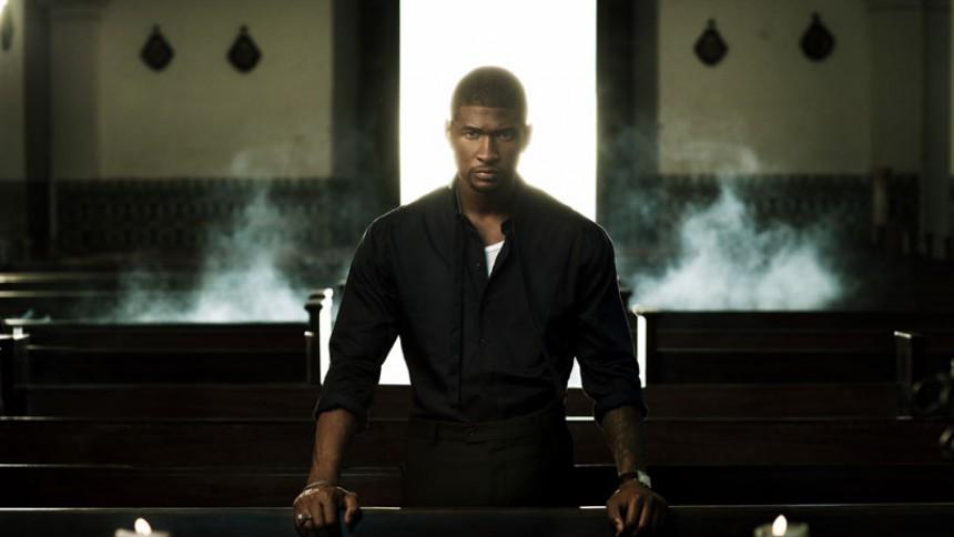 Usher er tilbage efter skilsmisse