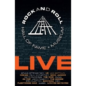 Diverse kunstnere: Rock And Roll Hall Of Fame + Museum - Live