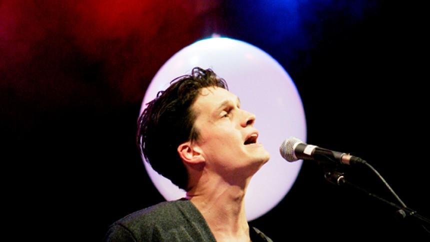 Før koncerten: Jonathan Johansson