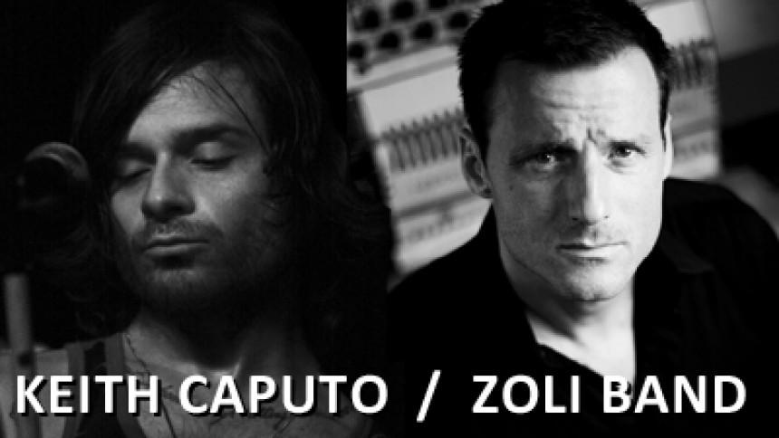 Keith Caputo og Zoli Teglas kommer til København