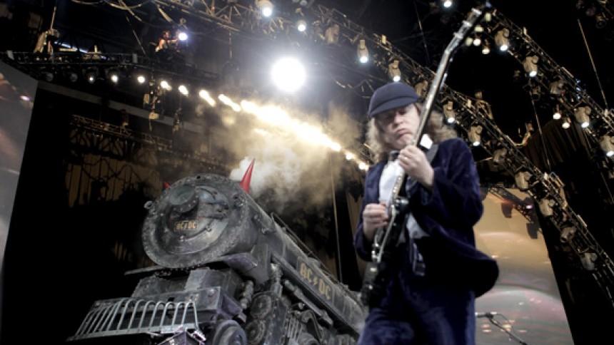 AC/DC har tjent flest penge på koncerter i 2010