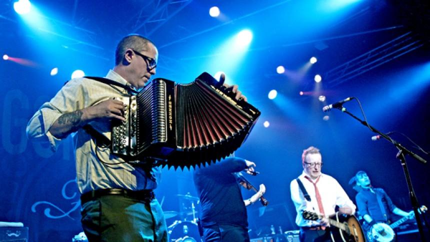 Flogging Molly: Voxhall, Århus