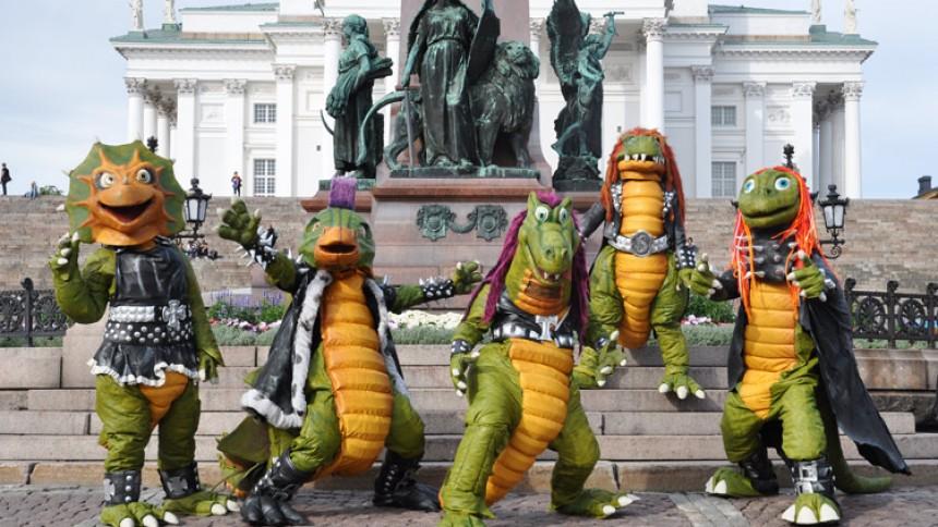 Dukker lærer finske børn at høre heavy metal
