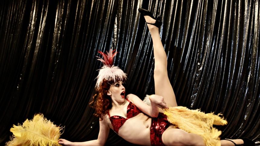Det Kongelige Teater viste burlesque på Roskilde