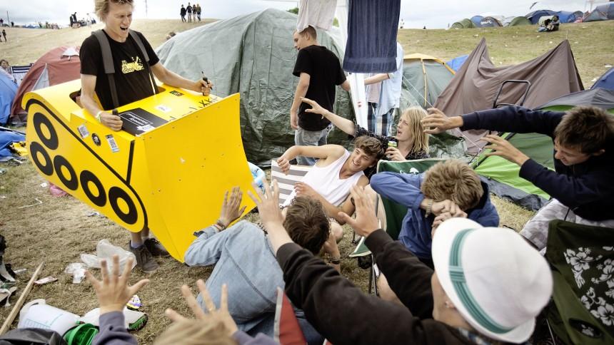 Amnesty International bulldozer område P