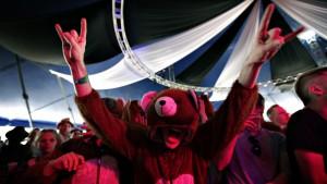 The Bear Quartet Roskilde Festival 2010 020710
