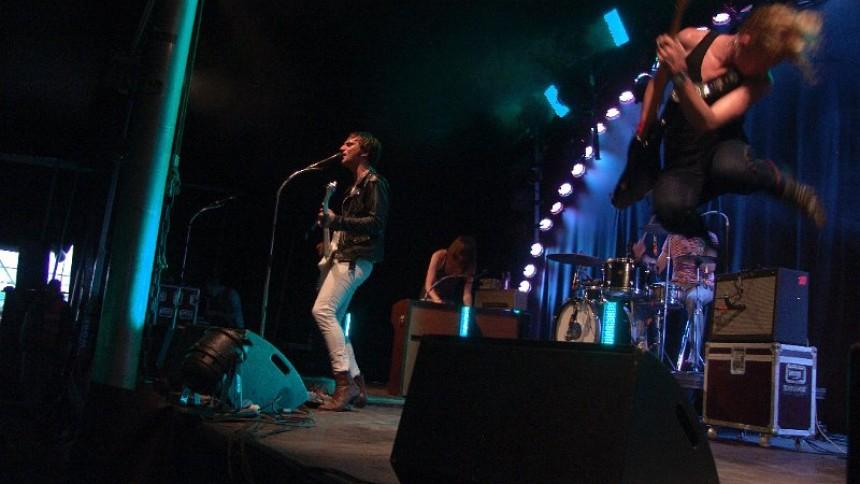 The Blue Van og Nibe Festival 2010: Nibe Festival, Rocktown