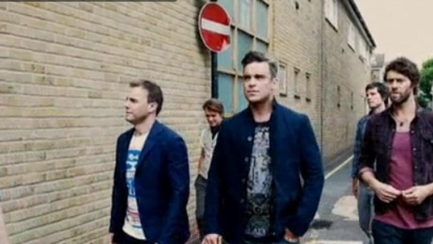 Robbie tilbage i Take That